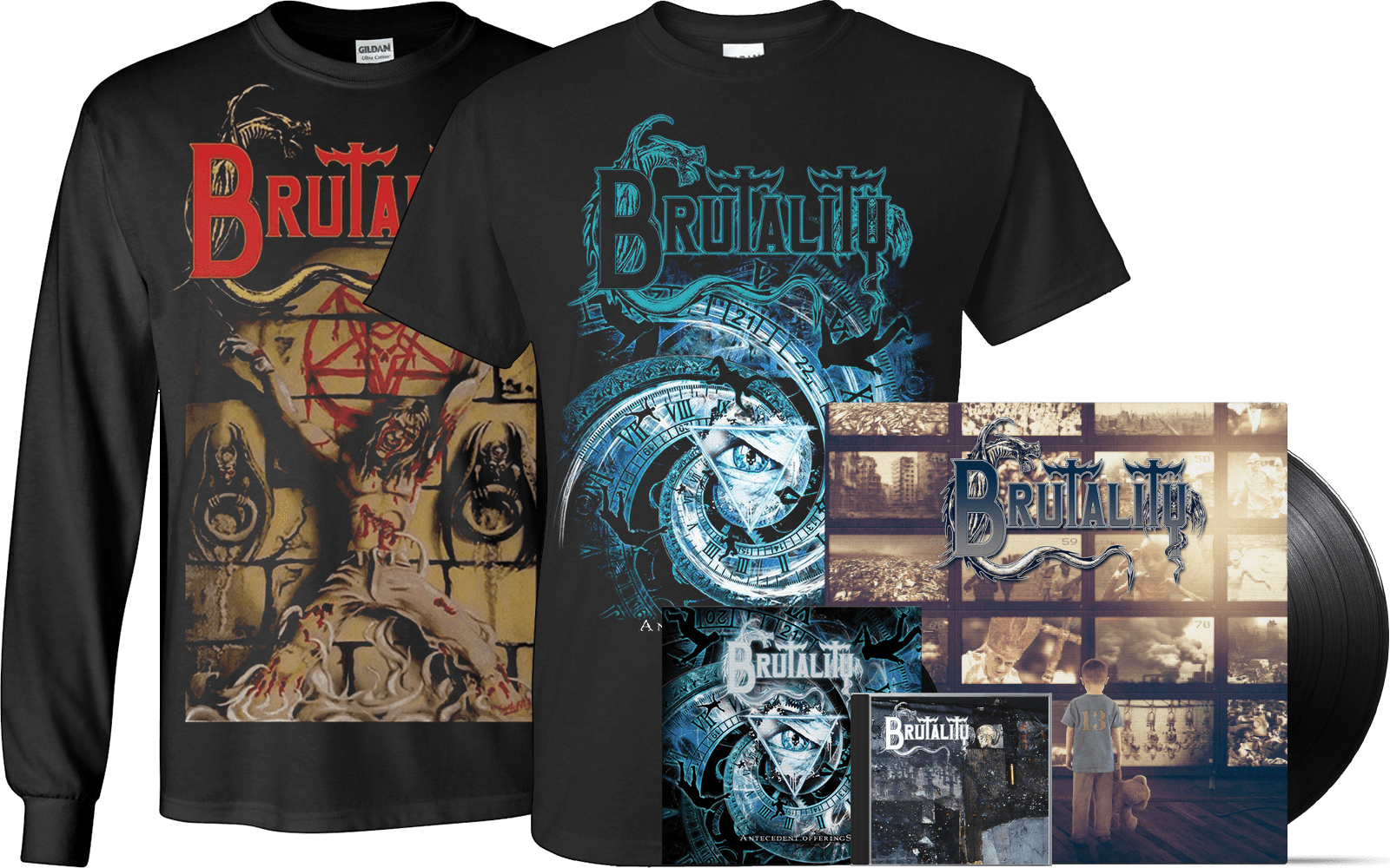 Brutality band official merchandise